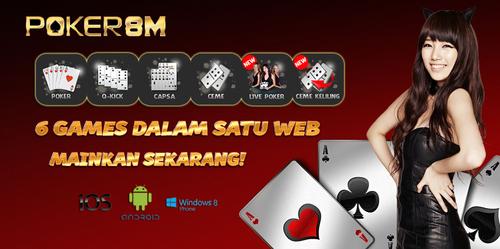 Situs Agen Poker Online Terpercaya Poker8m.org
