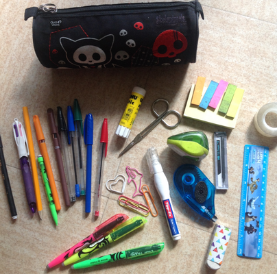 [back to school] : What is my school bag ?