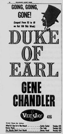 The Dukays aka The Duke Of Earl