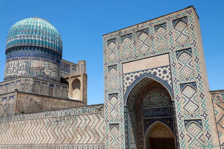 Mosquée Bibi Khanoum, Samarcande