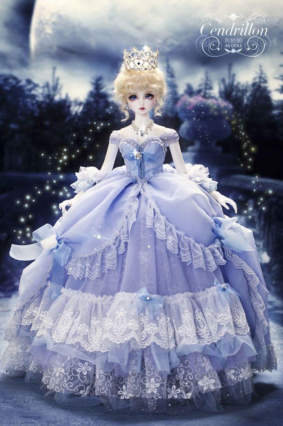 J'aime les poupées de porcelaine