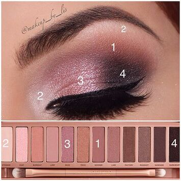 Makeup by Lis Puerto Rico Makeup Artist and Beauty Blog | Simple Valentine's Day Makeup using Urban Decay Naked 3 Palette: