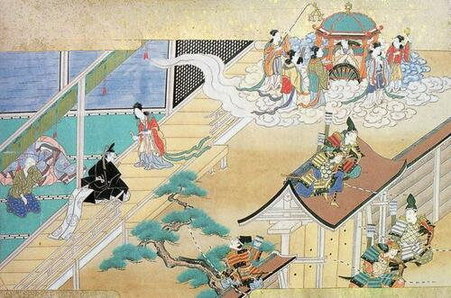 Le conte du coupeur de bambou