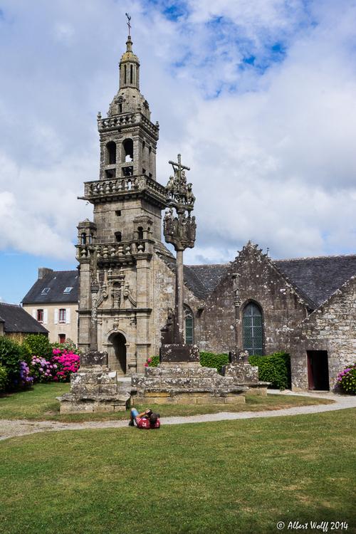 Bretagne - 9 août  2013 - Croyance au Ménez-Hom