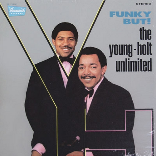 "The Young-Holt Unlimited : Album "" The Funky But ! "" Brunswick Records BL 754141 [ US ]"