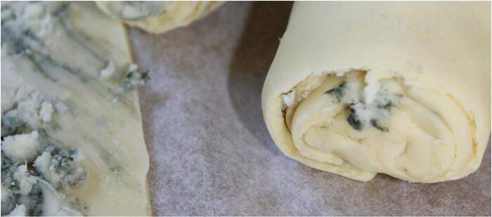 Cuisine / Feuilletés au roquefort