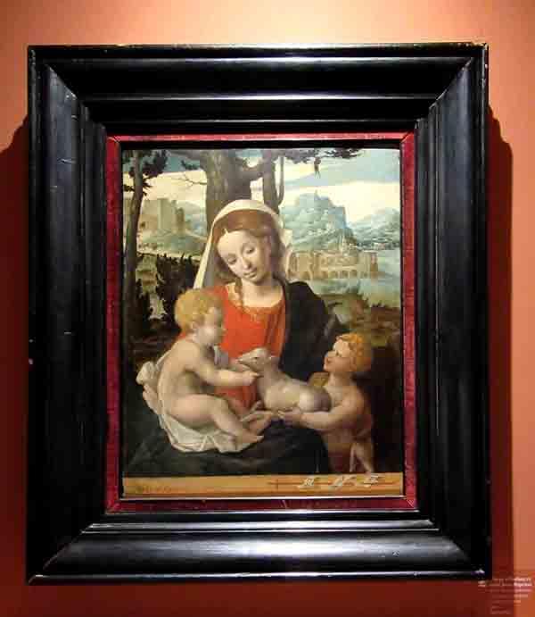 Notre Musée possède une très belle peinture du XVIème siècle, digne d'attirer de nombreux visiteurs....