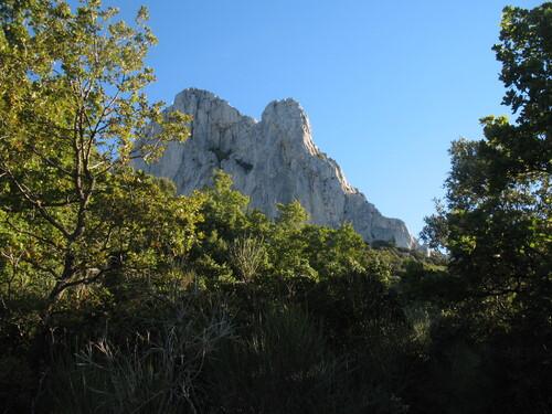 La falaise du Pic de Bertagne