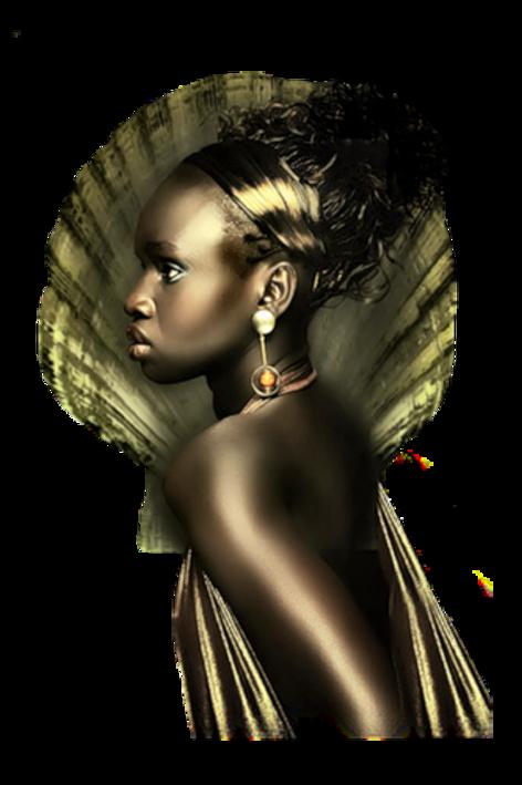 Tubes Africaine en PNG