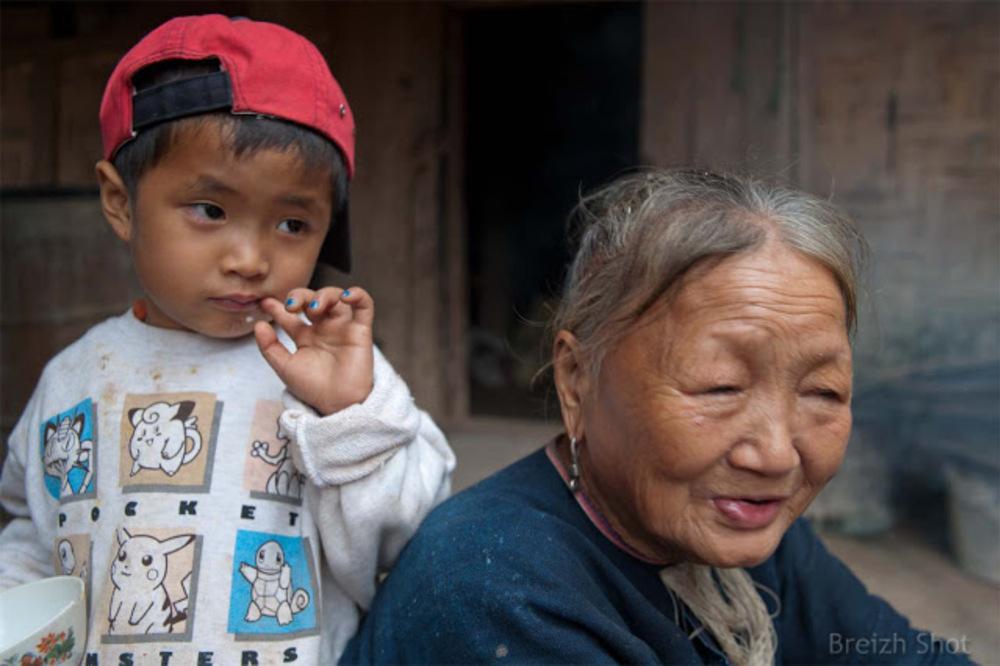 Grand mère Lanten