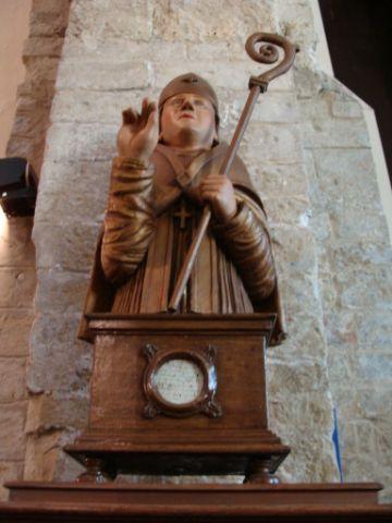 Haspres, fontaine Saint Achaire