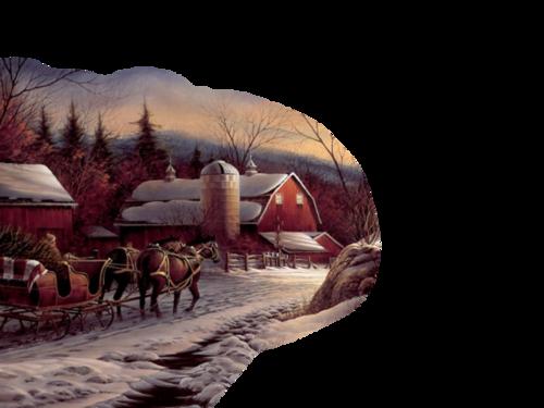 Paysage hivernal / 15