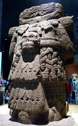 Mexico Musée Coaticlue dos