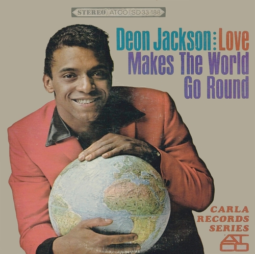 "Deon Jackson : Album "" Love Makes The World Go Round "" Atco Record SD 33-188 [US ]"