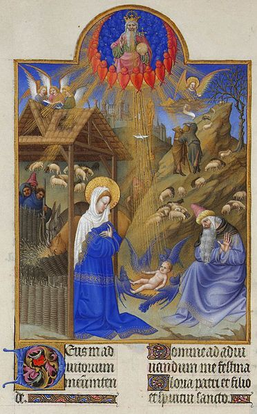 Fichier:Folio 44v - The Nativity.jpg