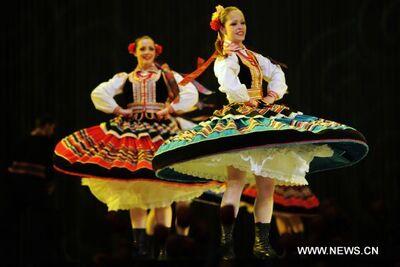 dance ballet folklore mazurka dance