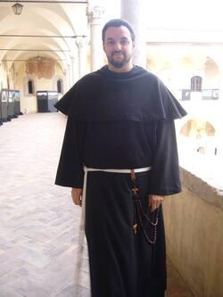 Entrée au noviciat de Samuel à Assise