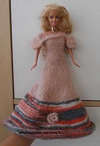 robe barbie modèle Emeraude01