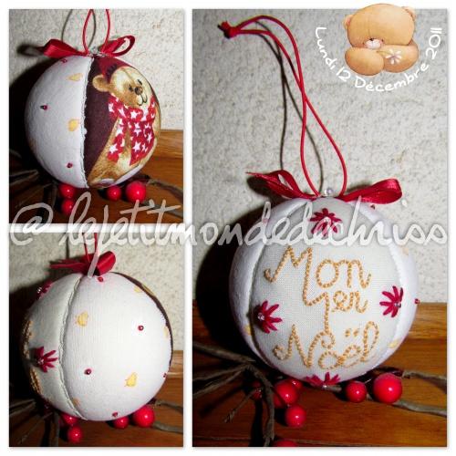 Boules et décorations de Noël 2011