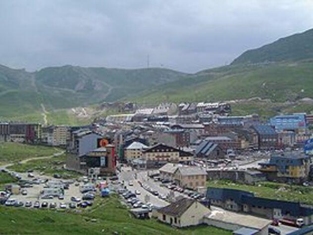 Le Pas de la Casa en 1971 - Andorre