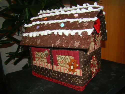 housse  gingerbread (chocolat)