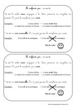 a   ou   à  (leçon ce2)