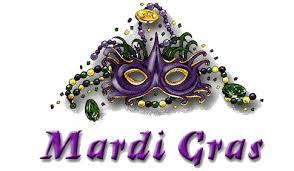 "Grille gratuite ""Mardi Gras"""
