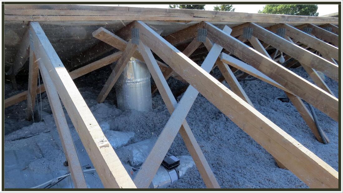 Isolation des combles et du toit