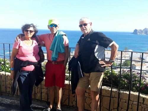 Avec Hélène et Michel