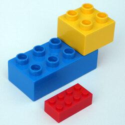 EMPREINTES DE LEGO DUPLO (Pièce de jeu de construction)