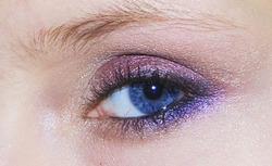 violet prune doré