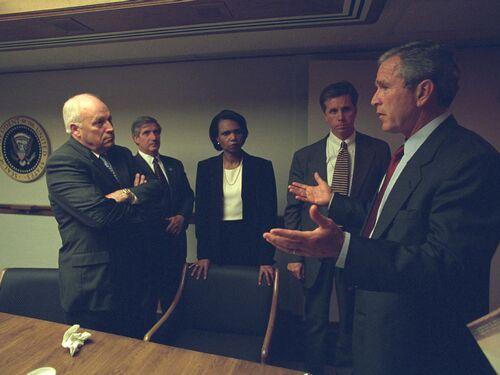 Dans les sous-sols de la Maison Blanche le 11 septembre (PHOTOS)
