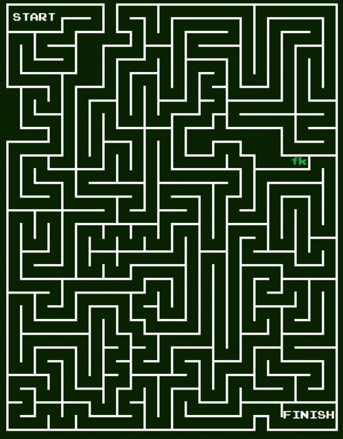 Labyrinthe unicursal digital
