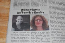 Conférence à Albi le 2 décembre 2017