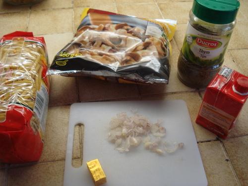 Des Pâtes aux Champignons forestiers