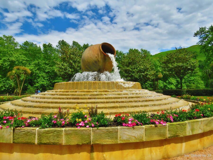 le parc thermal de Cambo les Bains -2