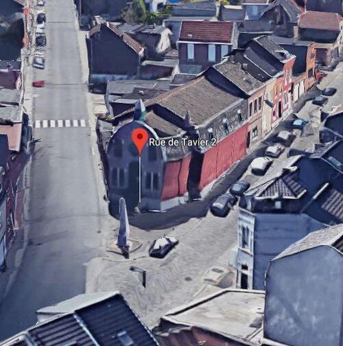 Seraing - Rue de Tavier 2 (Google Satellite - Vue 3D)