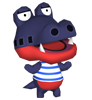 Hector animal crossing WII