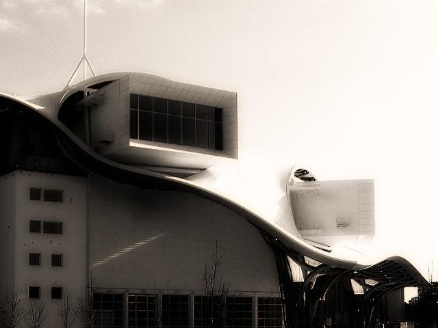 Vu du Centre Pompidou-Metz 1 Marc de Metz 09 02 2013