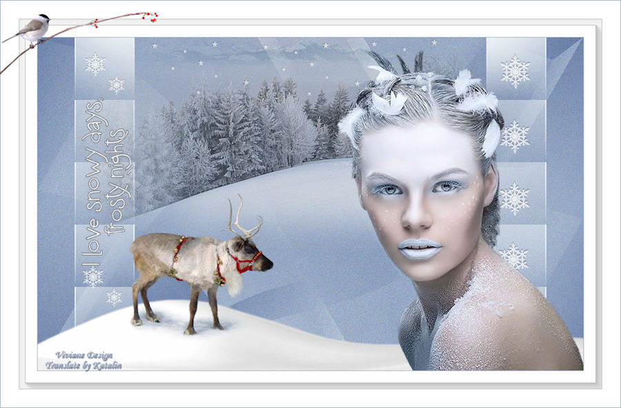 Tutorial Viviane ~ Frosty Nights