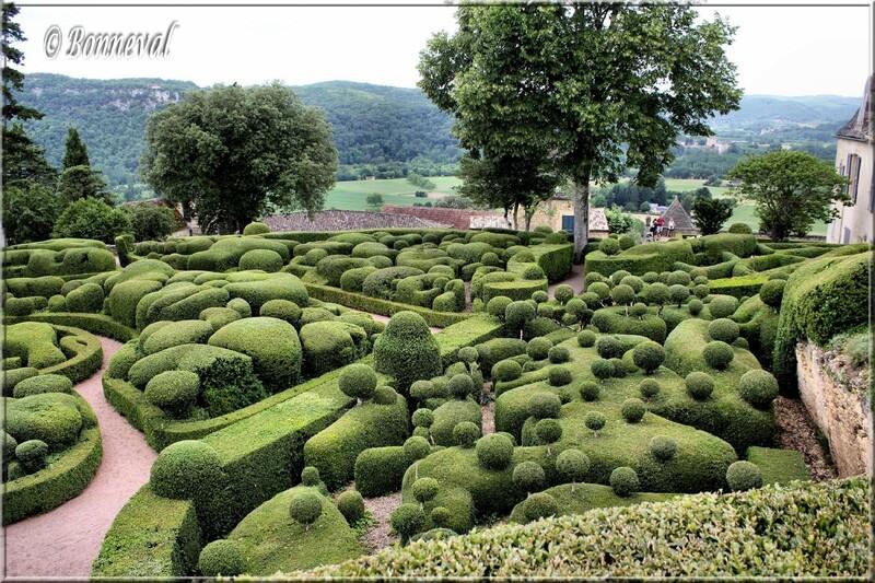 Les Jardins Suspendus de Marqueyssac Dordogne le Bastion