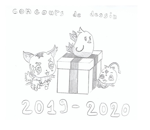 Concours dessin Feng Ni Tian Xia 2019