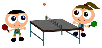 Tennis de table à l'école