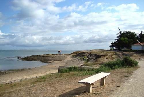 La côte d'Amour : des plages sous les pins