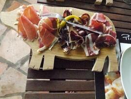 Planche spécialité porc