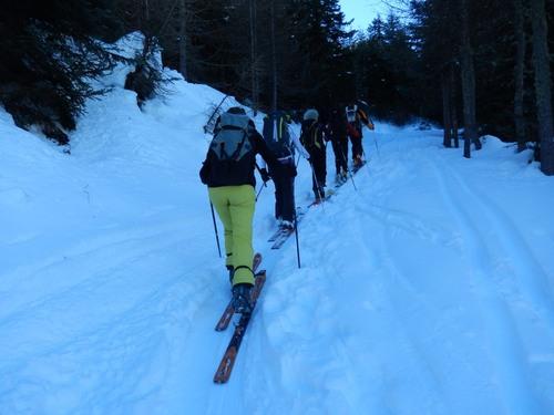 montée au Mont Vaccia