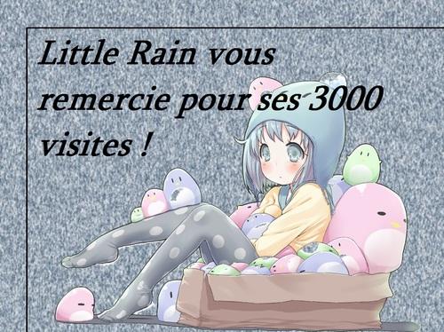 3000 visiteurs !!! *0*