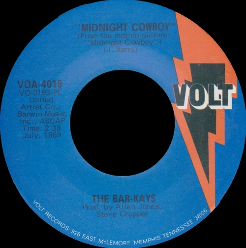 "The Bar-Kays : Album "" Gotta Groove "" Volt Records VOS-6004 [ US ]"
