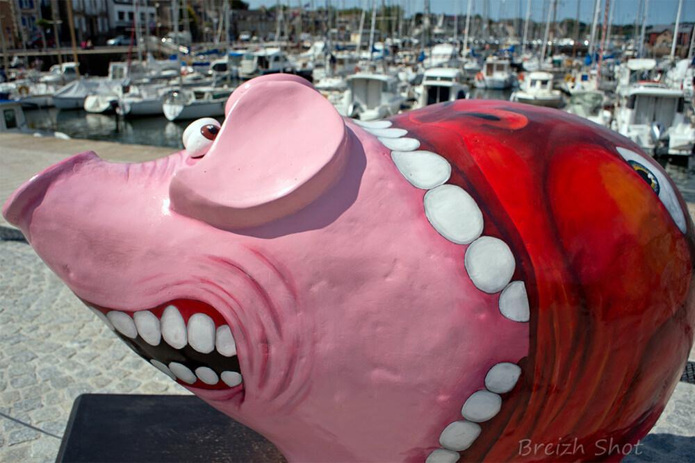 pig parade - paimpol - groinfre - goinfre