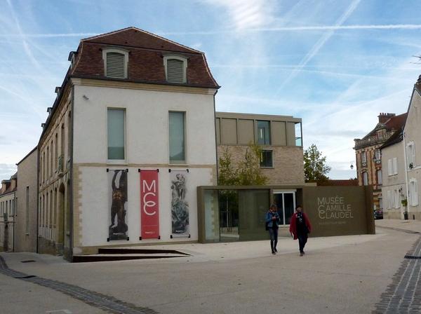 Randonnée au Lac du Der (6) : visite du Musée Camille Claudel à Nogent-sur-Seine